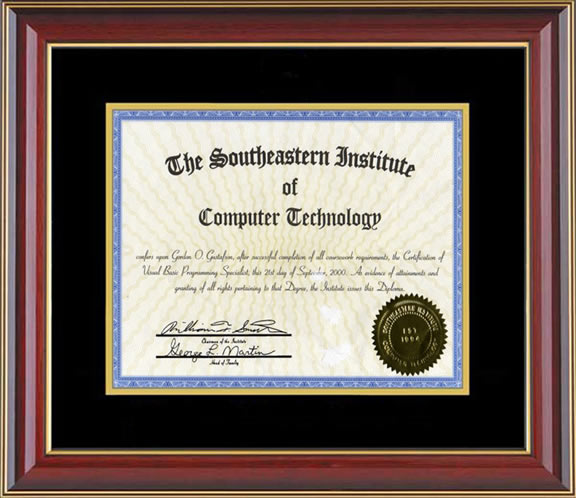 Gordon Gus Southeastern Technical   Institute Visual Basic